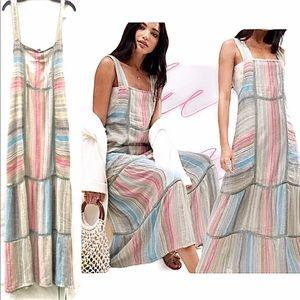 Restock NWT Free People Boho Chic Anika Maxi Dress